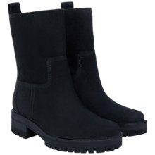 Buy Timberland Courmayeur Valley Mid Boots, Black Leather Online at johnlewis.com