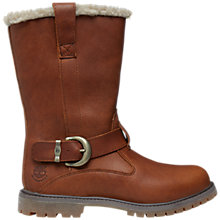 Buy Timberland Nellie Pull On Boots, Brown Online at johnlewis.com
