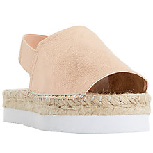 Buy Dune Lucindie Flatform Sandals Online at johnlewis.com