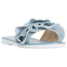Buy Dune Laria Ruffle Slider Sandals Online at johnlewis.com
