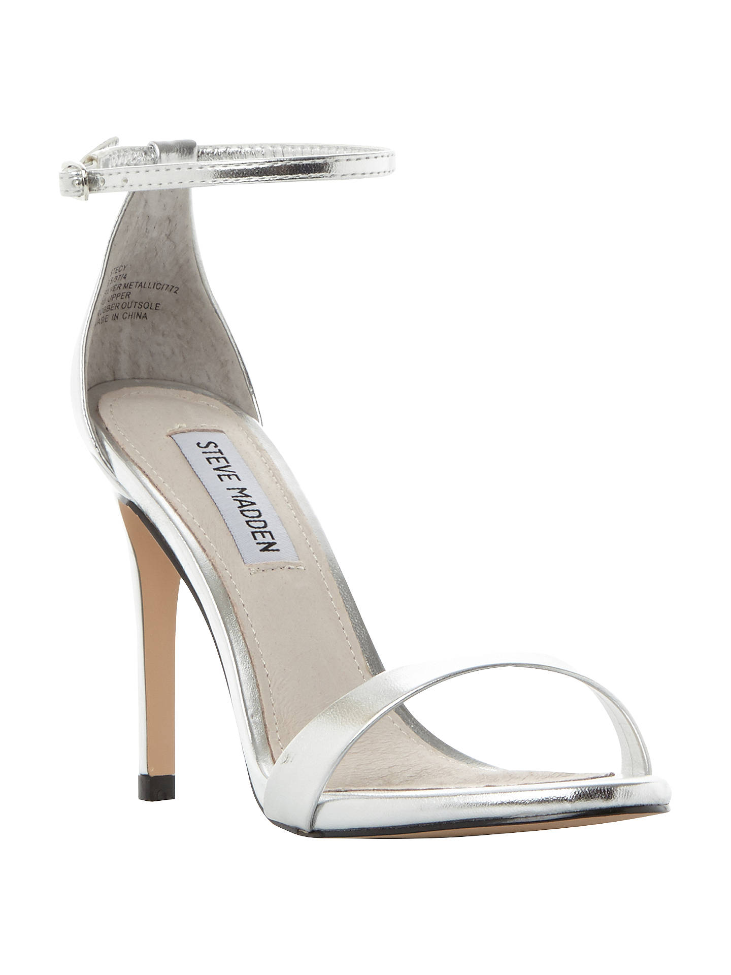 fe00604505d Steve Madden Stecy Stiletto Sandals at John Lewis & Partners