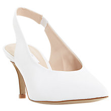 Buy Dune Cantrel Pointed Toe Slingback Court Shoes Online at johnlewis.com