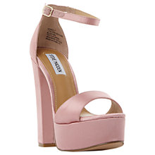 Buy Steve Madden Gonzo Platform Block Heeled Sandals Online at johnlewis.com