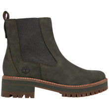 Buy Timberland Courmayeur Valley Chelsea Boots, Olive Online at johnlewis.com