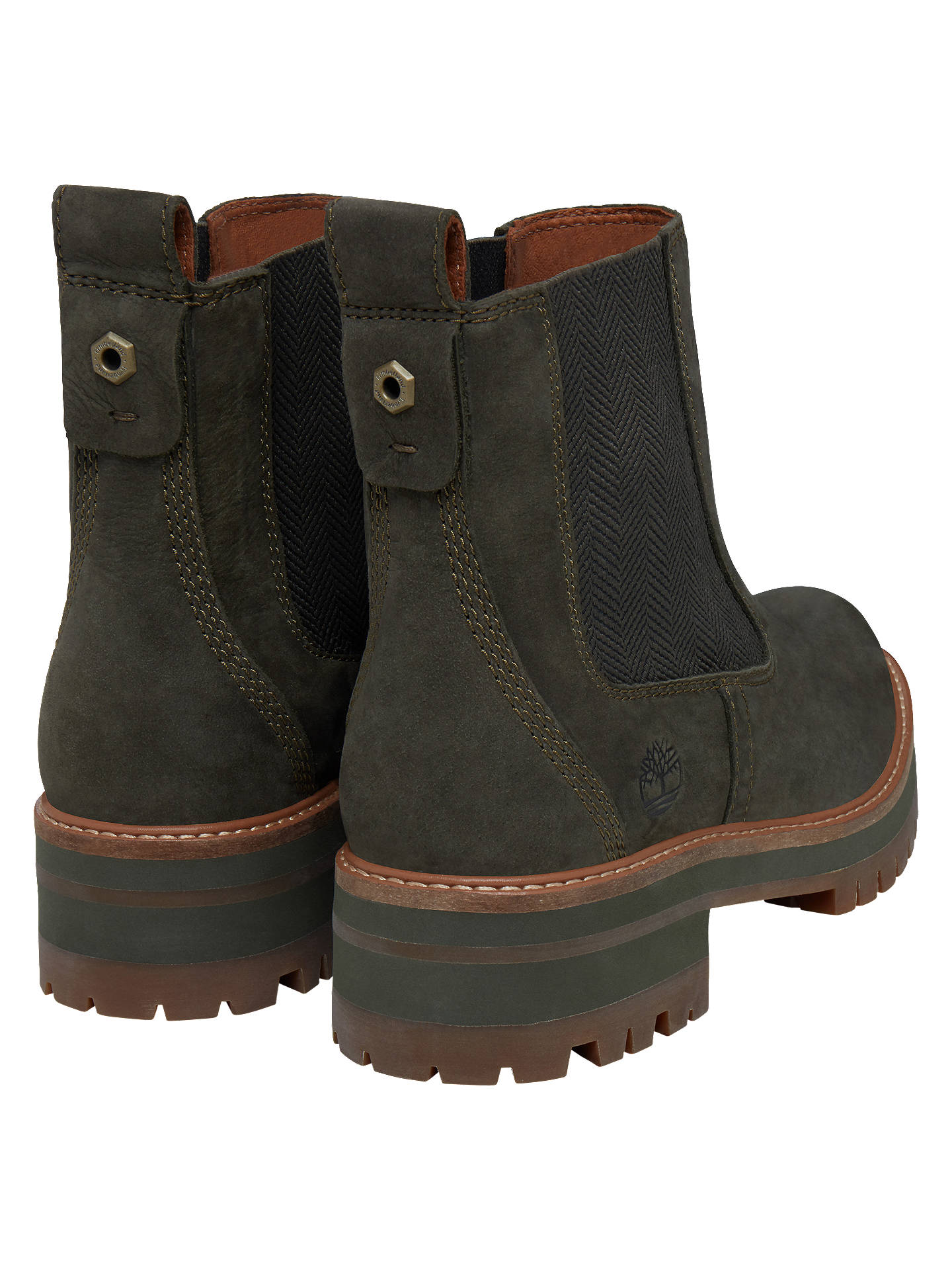 ed04d410476d4 ... Buy Timberland Courmayeur Valley Chelsea Boots, Olive, 5 Online at  johnlewis.com ...
