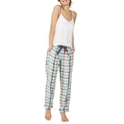 Fat Face Sketchy Check Classic Pyjama Bottoms