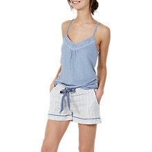 Buy Fat Face Stripe Pyjama Shorts, Multi Online at johnlewis.com
