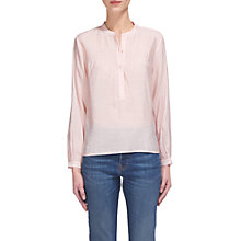 Buy Whistles Heather Swing Top, Pale Pink Online at johnlewis.com