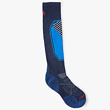 Buy SmartWool PhD Ski Light Socks, Navy Online at johnlewis.com