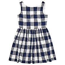 Buy Jigsaw Girls' Gingham Dress Online at johnlewis.com