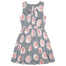 Buy Jigsaw Girls' Bubble Print Dress, Pink Online at johnlewis.com
