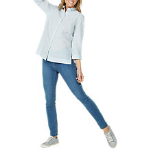 Buy Fat Face Rachel Stripe Shirt, Ivory Online at johnlewis.com