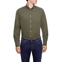 Buy Hackett London Brompton Garment Dyed Slim Oxford Shirt Online at johnlewis.com
