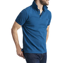Buy Joules Kielder Polo Shirt, Teal Marl Online at johnlewis.com
