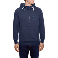 Buy Hackett London Mr Classic Hoody, Navy Online at johnlewis.com