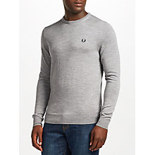 Buy Fred Perry Classic Crew Merino Jumper Online at johnlewis.com