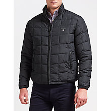 Buy Gant Lightweight Cloud Jacket, Black Online at johnlewis.com