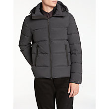 Buy J. Lindeberg Barry Jacket, Anthracite Online at johnlewis.com