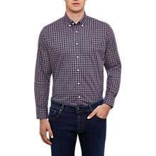 Buy Hackett London Check Shirt, Navy Multi-Check Online at johnlewis.com