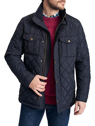 Buy Joules Holmwood Jacket, Marine Navy, S Online at johnlewis.com