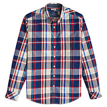 Buy Joules Lyndhurst Multi Check Shirt, French Navy Check Online at johnlewis.com