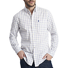 Buy Joules Wilby Long Sleeve Check Shirt, Chalk Online at johnlewis.com