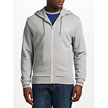 Buy Fred Perry Loopback Hooded Jumper Online at johnlewis.com
