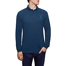 Buy Hackett London Mr Classic Long Sleeve Polo Top Online at johnlewis.com