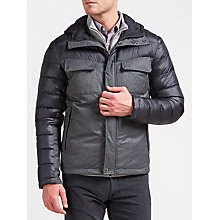 Buy Gant Velocity Jacket, Charcoal Online at johnlewis.com