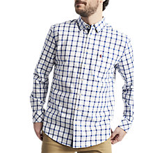 Buy Joules Wilby Long Sleeve Check Shirt, Blue Check Online at johnlewis.com