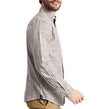 Buy Joules Wilby Long Sleeve Check Shirt, Cream Online at johnlewis.com