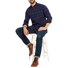 Buy Joules Buchanan Shirt, Navy Online at johnlewis.com