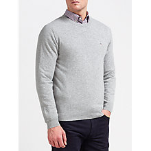 Buy Gant Superfine Lambswool Crew Neck Jumper Online at johnlewis.com