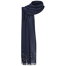 Buy Adrianna Papell Beaded Pashmina With Fringed Edges Online at johnlewis.com