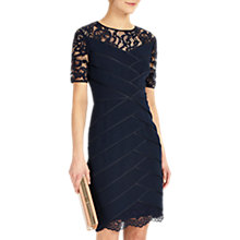 Buy Phase Eight Collection 8 Zennor Lace Dress, Navy Online at johnlewis.com