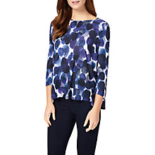 Buy Phase Eight Watercolour Spot Top, Purple Online at johnlewis.com