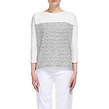 Buy Whistles Breton Stripe T-shirt, Multi Online at johnlewis.com