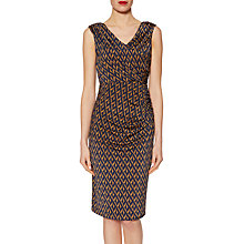 Buy Gina Bacconi Graphic Print Jersey Dress, Navy Online at johnlewis.com