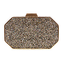 Buy Coast Gwen Glitter Clutch Bag, Multi Online at johnlewis.com