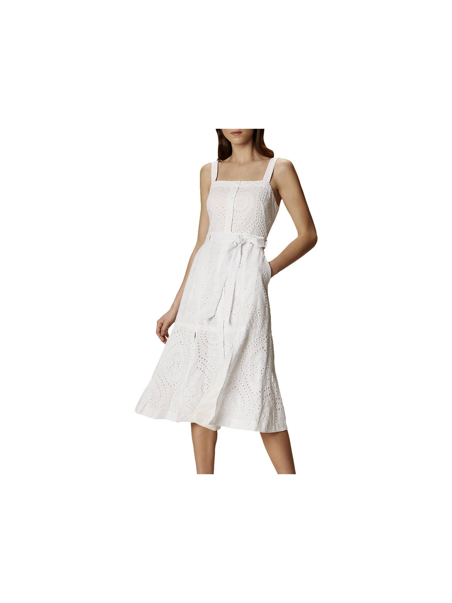 cc58a301f25 Buy Karen Millen Broderie Midi Dress