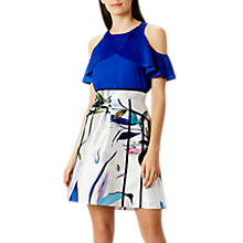 Buy Coast Botanical A Line Skirt, Multi Online at johnlewis.com