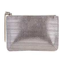 Buy Coast Isabelle Chain Tassel Pouch Bag, Silver Online at johnlewis.com
