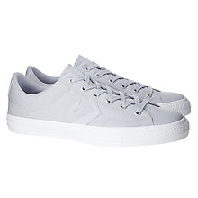 Buy Converse Star Player OX Plain Canvas Trainers Online at johnlewis.com