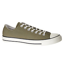 Buy Converse Chuck Taylor OX Trainers, Green Online at johnlewis.com