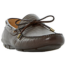 Buy Dune Botswana Leather Driving Loafers Online at johnlewis.com