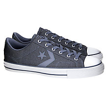 Buy Converse Star Player OX Canvas Trainers Online at johnlewis.com