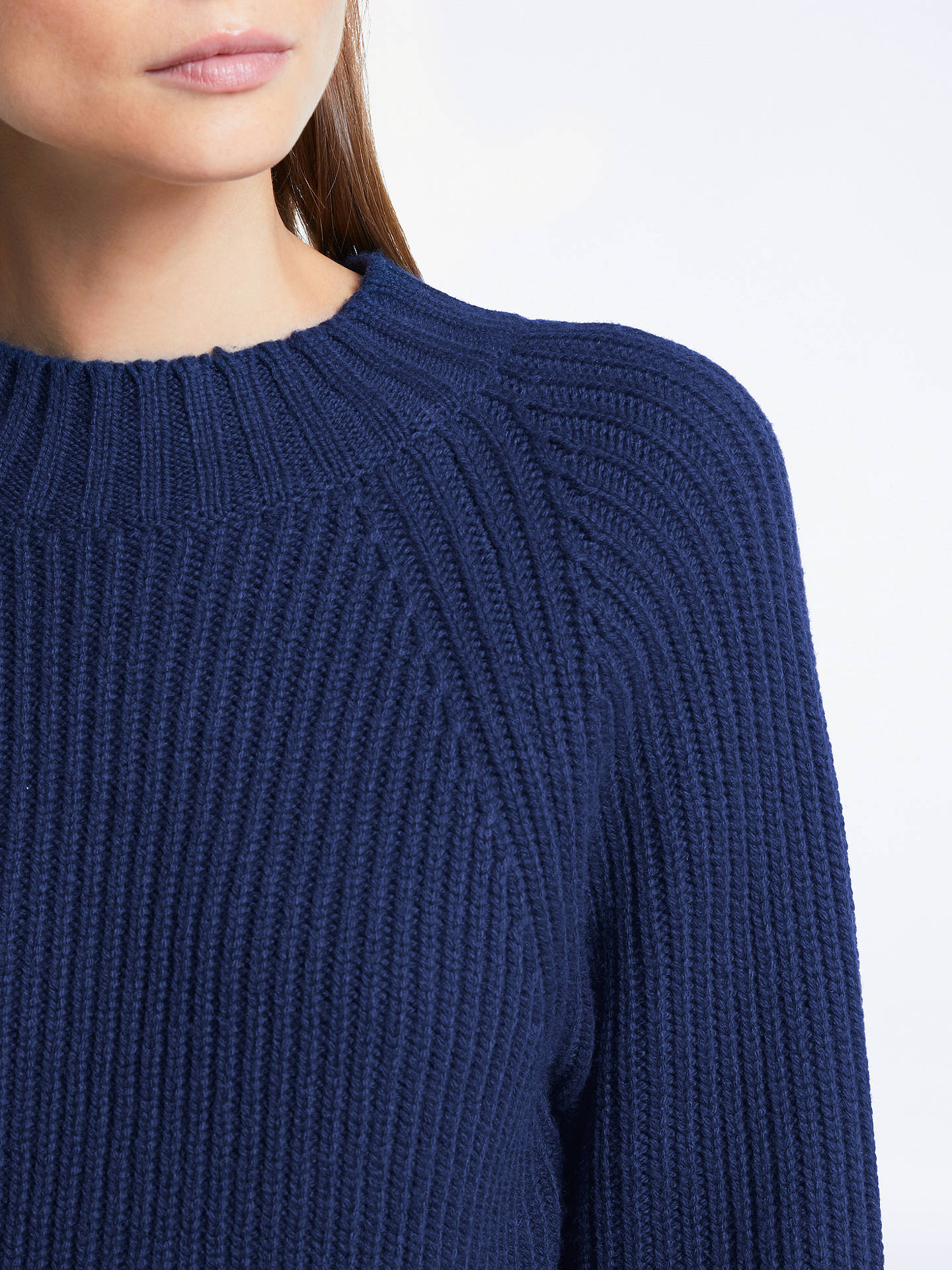 BuySomerset by Alice Temperley Double Placket Jumper, Navy, 6 Online at johnlewis.com