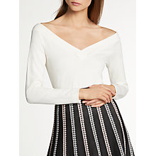 Buy Somerset by Alice Temperley Off The Shoulder Top, Ivory Online at johnlewis.com