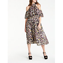 Buy Somerset by Alice Temperley Animal Off The Shoulder Dress Online at johnlewis.com