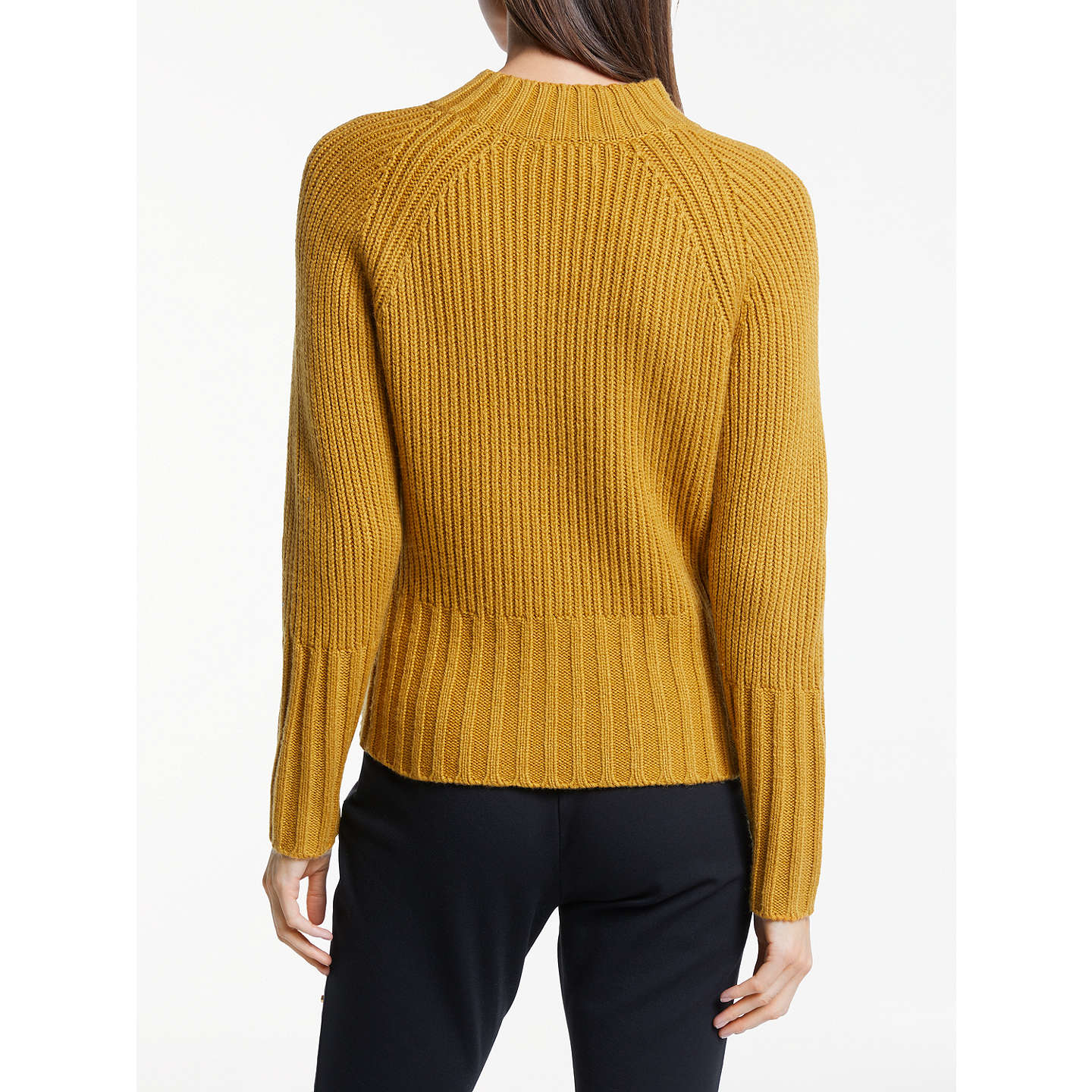 BuySomerset by Alice Temperley Double Placket Jumper, Mustard, 6 Online at johnlewis.com